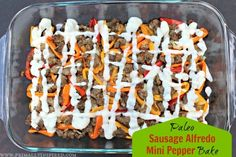 Paleo Sausage Alfredo Mini Pepper Bake – Here's a dish that's easy to assemble and has been a huge hit in my house. Enjoy!