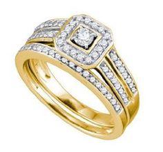 ladies wedding ring sets