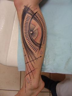 Artwork by great tattoo artists - eye tattoos, the window to the soul. Great Tattoos, Leg Tattoos, I Tattoo, Tatoos, Memories Faded, Skin Art, Body Mods, Tattoo Photos, Body Painting