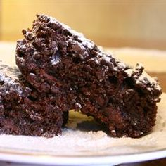 Vegan Brownies for my guest  who can't have eggs, dairy, or butter.