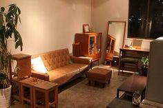 部屋 Diy Interior, Interior Architecture, Interior Design, Small Room Layouts, Furniture Decor, Furniture Design, Home And Living, Living Room, Love Home