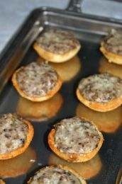 Delicious Mushroom Croustades recipe that was one of my mom's favorites.