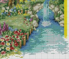 VK is the largest European social network with more than 100 million active users. Cross Stitch House, Cross Stitch Charts, No Name, Stitch Patterns, Photo Wall, Landscape, Painting, Wall Photos, Community