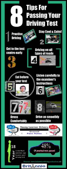 Tips For Passing Your Driving Test #drivingtest