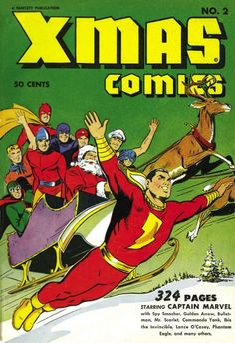 Cover for Xmas Comics (Fawcett, 1941 series) #2