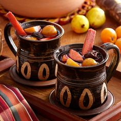 This warm, spiced Mexican punch is traditionally served at Christmas and New Year's Eve celebrations. It is made by simmering Mexican fruits, sugar cane and spices until fragrant.