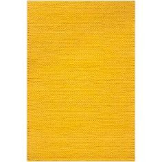 Hand-woven Yellow Vinci New Zealand Wool Soft Braided Texture Rug (8' x 10')   Overstock.com Shopping - Great Deals on 7x9 - 10x14 Rugs