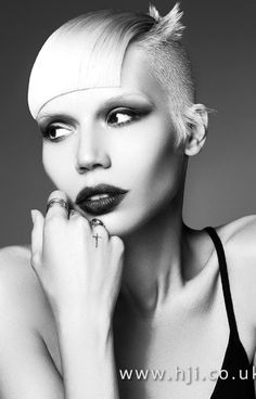Jamie Stevens - 2017 British Hairdresser of the Year Nominee - HJI Makeup Inspo, Makeup Art, Hair Makeup, Creative Hairstyles, Funky Hairstyles, Hair Art, My Hair, Avant Garde Hair, Great Haircuts