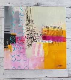 Pastel colored Abstract Painting Find Your Way Back by Jodi Ohl#abstract #abstractpainting #patterns #acrylicpainting #jodiohl Retro Color, Whimsical, Finding Yourself, Artsy, Author, The Originals, Abstract, Canvas, Bridges