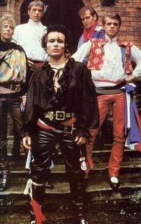 Adam and The Ants - Pirate style by Vivienne Westwood - circa 1980