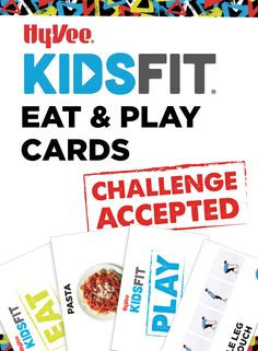Make learning life skills fun with card games. Link takes you to our EAT cards.   Make sure you visit our Blog www.hy-veekidsfit.com/blog/category/learn for more EAT & PLAY games with the same cards! Blog Categories, Game 1, Life Skills, Games To Play, Card Games, Plates, Learning, Link, How To Make