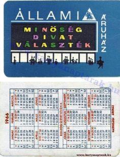1966 - 1966_0010 - Régi magyar kártyanaptárak