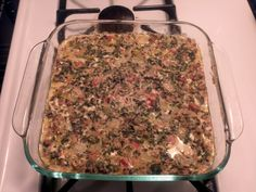 Mexican Spinach Casserole - Easy to make keto lunch, my new favorite!
