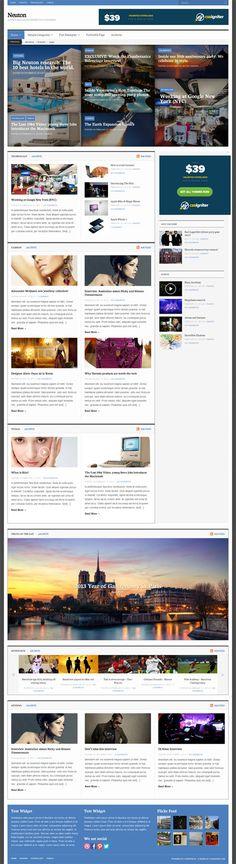 CSSIgniter - Neuton WordPress Theme Review