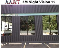 Sky lights with 3m night vision 35 aawt home tinting denver tinted the universal restaurant with night vision 15 to reduce glare heat transfer through the window and allow privacy you can really see the difference sciox Choice Image