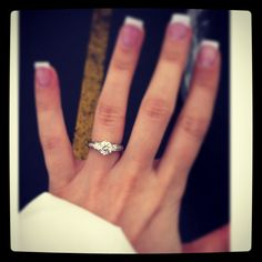 My engagement ring :) My Engagement Ring, Wedding Planning, Wedding Rings, Jewelry, Jewlery, Jewerly, Schmuck, Jewels, Jewelery