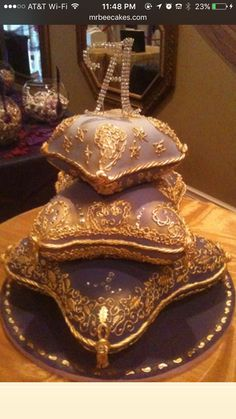 Arabian nights cake