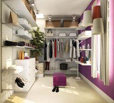 Closet organizado!