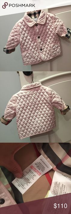 LIKE NEW! CHILDRENS BURBERRY JACKET AUTHENTIC Perfect shape. AUTHENTIC ONLY WORN ONCE. Smoke free pet free home Burberry Jackets & Coats