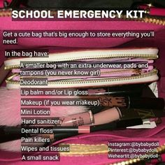 29 back-to-school hacks for school year success Middle School Hacks, High School Hacks, Life Hacks For School, School Study Tips, Girl Life Hacks, High School Makeup, Back To School Tips, Back To School Supplies Diy, Back To School Glo Up