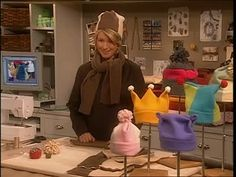 Fleece Hats to Keep You Warm in Winter Videos | Crafts How to's and ideas | Martha Stewart