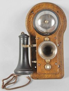 Antique Ericsson Wall Telephone Sold by Morphy Auctions for $425