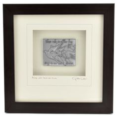 """Original hand cast pewter plaque is molded with the heartwarming sentiment, """"Those who touch our lives stay in our hearts forever,"""" then expertly framed with a signed mat. Cynthia Webb is a San Diego,"""