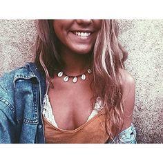Kauri-Schale-Halsband von RubyAshCreations auf Etsy