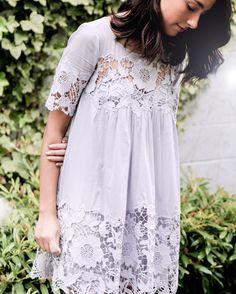 Magnolia Lace Dress #Anthtopologie #MyAnthroPhoto