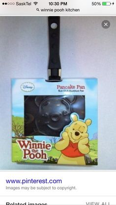 Disney Winnie the Pooh Pancake Pan by La Ideal. Nonstick, so they always come out perfect! Cute Disney, Baby Disney, Eeyore, Tigger, Baby Shower Gifts, Baby Gifts, Disney Kitchen, Disney Home Decor, Pancake Pan