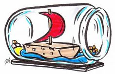 Buddelschiff basteln | Frag Mutti
