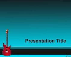 Melody PowerPoint is a PPT template with music notes over an ...