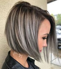 AMAZE.... Sleek + Steely Chic! By @polishedbypaigey #BEHINDTHECHAIR **** PLEASE NOTE: Formulas, Pricing and HOW-TO coming soon