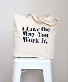 """Thanks for the swell words! Our tote bags are perfect for those summer Saturday markets. ★★★★★ """"This bag is adorable and great for hauling groceries and other heavy items."""" Kyla H. Black Cotton, Cotton Tote Bags, Cotton Canvas, Trending Outfits, Kids, Summer, Young Children, Children, Summer Time"""