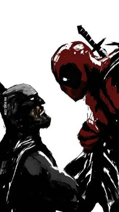 Because everybody is talking about Batman vs Superman, how would a fight end between Batman and Deadpool?