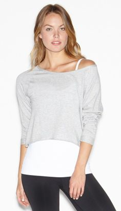 Easy Crop Easy Go Sweatshirt by BEYOND YOGA