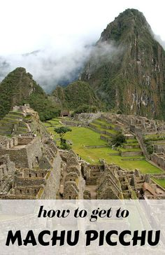 How to get to this fabulous archeological site! There are different opctions, from the expensive Inca Trail to the more adventurous path along the railway!! Come visit Machu Picchu!