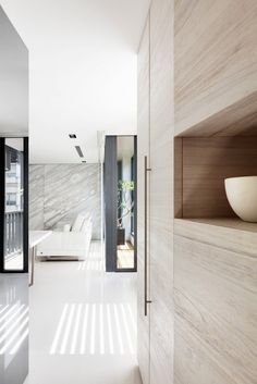 Spacious and luminous, the Residence Chang in Taipei by ATELIERII _