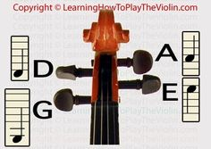 Beginning Violin Tuning | How to Tune a Violin | Online Instructions Using Pegs, Strings...