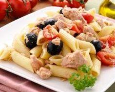 Salade de pâtes au thon (facile, rapide) - Une recette CuisineAZ
