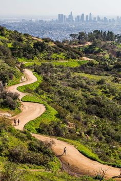 Hiking in Griffith Park, Los Angeles is one of the best non-touristy things to do in LA California. See blog post inside for 7 other Los Angeles travel tips that are not on the tourist trail!  #LosAngeles #California #hiking #adventuretravel #familytravel #LA