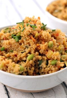 Thai Quinoa Fried Rice