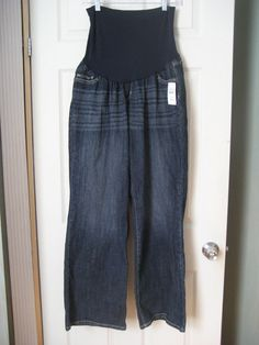 New Indigo Blue Plus Size Stretch Waist Band Bootcut Denim Jeans MSRP $49 - 3X #IndigoBlue #BootCut