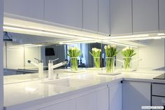 Adalmina's Secret: White kitchen
