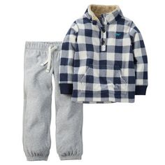 2-Piece Pullover & Sweatpant Set