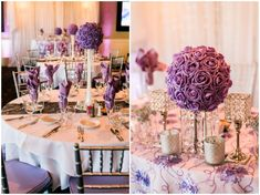 Romantic purple and white wedding at the San Dimas Canyon Golf Course    Photography by Shelly Anderson Photography    www.shellyandersonphotography.com