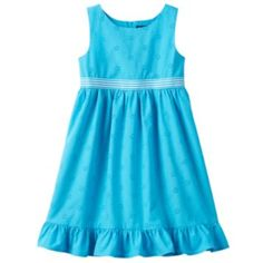 Chaps Eyelet Dress - Toddler Girl