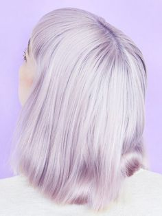 Light lilac hair perfection