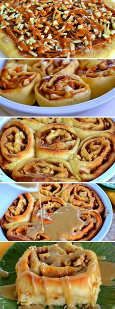Caramel Apple Cinnamon Rolls. These gorgeous rolls are topped with a mouth-watering caramel icing and filled with Granny Smith apples and caramel.
