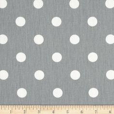 SHIPS SAME DAY Grey and White Polka Dot Fabric - Preimer Prints Polka Dots Storm Grey - Fabric by the 1/2 yard by FabricSupplyCo on Etsy https://www.etsy.com/listing/228963156/ships-same-day-grey-and-white-polka-dot